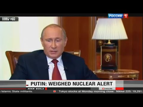 Nuclear Watch: Russia ready to put nuclear arms on alert + Anti-nuclear rally Taiwan 3/17/2015