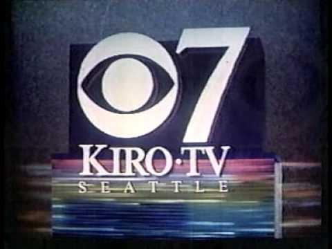KIRO TV news wrap & sign-off 1990
