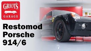 Restomod, Murdered-out, WIDE-BODY Porsche 914/6