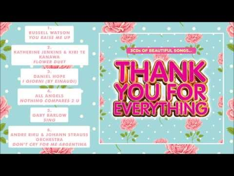 Thank You For Everything - Album Sampler