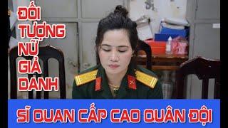 Phát hiện đối tượng giả danh nữ sĩ quan quân đội - Báo QĐND