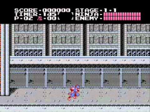 Misc Computer Games - Ninja Gaiden - Act 4 Stage 3