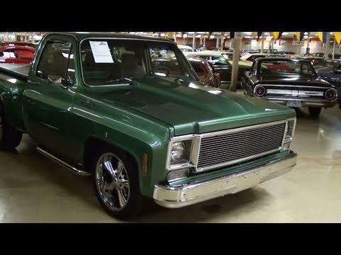 1978 Chevrolet C10 Stepside Pick-up -  Nicely Restored Hot Rod Truck