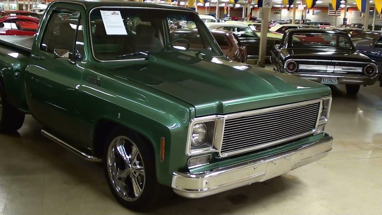 1978 Chevrolet C10 Stepside Pick Up Nicely Restored Hot Rod Truck Youtube