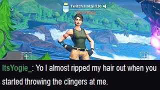 I put Twitch in my Fortnite name and pretended to be a girl...