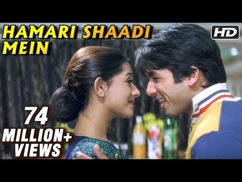 Shahid Kapoor & Amrita Rao In Hamari Shaadi Mein - Vivah video