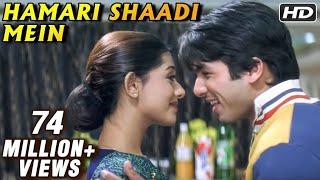 Shahid Kapoor & Amrita Rao in Hamari Shaadi Mein - Vivah