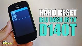 Como fazer o hard reset no BLU Dash JR TV D140T formatar resetar