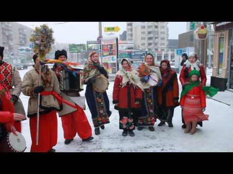 """Хмельницька міська організація ВО """"Свобода"""" та її молодіжне крило вітає усіх з Різдвом Христовим та розпочинає святкову коляду!"""