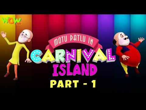 Motu Patlu In Carnival Island - Movie - Part 01| Movie Mania - 1 Movie Everyday | Wowkidz thumbnail