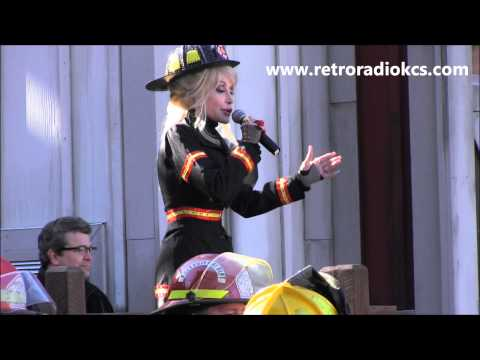 Dolly Parton Great Balls of Fire Dollywood FireChaser Express Opening ...