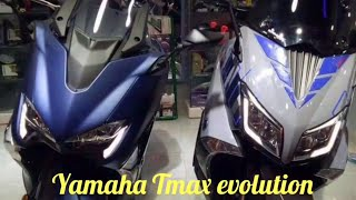 YAMAHA TMAX evolution 2000 - 2019  the best maxi scooter in the world