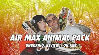 REVIEW | NIKE AIR MAX 1 Y 95 ANIMAL PACK | DOBLE UNBOXING | ON FEET