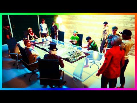 GTA 5 DLC $6,000,000 LUXURY OFFICE PARTY, CEO MONEY CRAZINESS & SUPER CAR CUSTOMIZATION SHOWCASE!!!