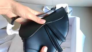 DIOR Saddle Bag Unboxing