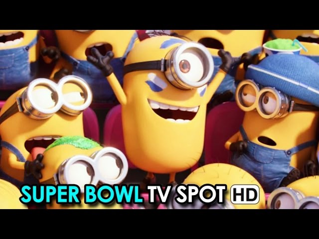 Minions Super Bowl TV Spot 'Super Fans' (2015) HD