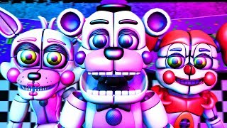 Five Nights at Freddy's Song (FNAF Funtime SFM)(TIFWhitney Remix)