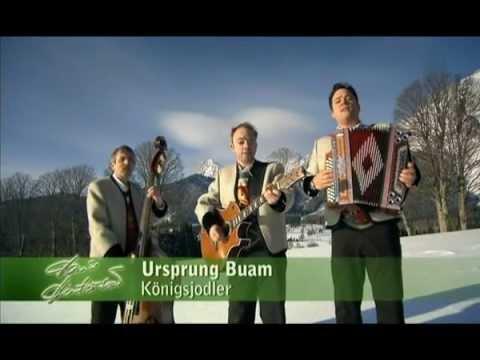 Ursprung Buam - Königsjodler 2013
