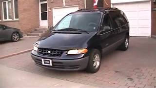 1998 Plymouth Voyager Expresso Startup Engine & In Depth Tour