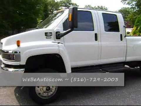 SOLD 2005 Chevy C4500 4x4 Kodiak 4x4 Pickup Duramax Diesel ...