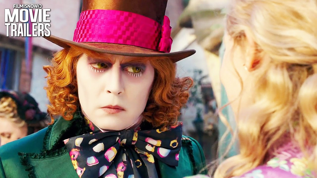 Johnny Depp is the Mad Hatter in ALICE THROUGH THE LOOKING GLASS [HD]