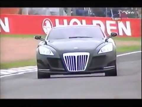 "Maybach Exelero: The ""8 Million Car"" in action!"