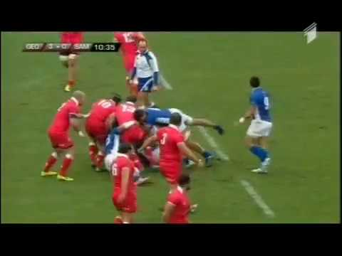 Rugby - End-of-year rugby union internationals - 2014 - Georgia-Samoa