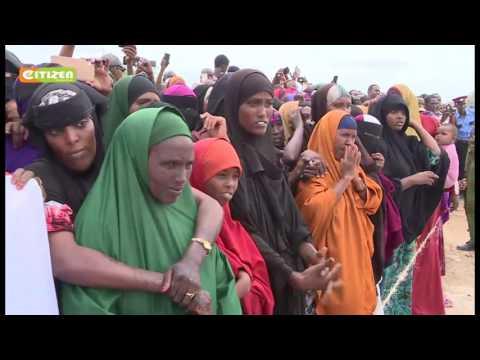 Rais Kenyatta azuru Mandera, Wajir na Garissa