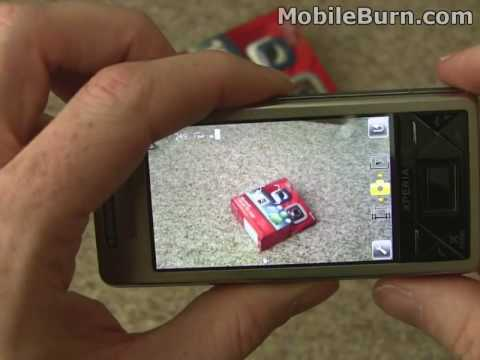 Sony Ericsson Xperia X1 review - Part 4 of 4 - video playback. camera. scrolling
