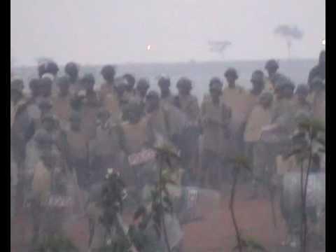 Police Firing in Kalinga Nagar