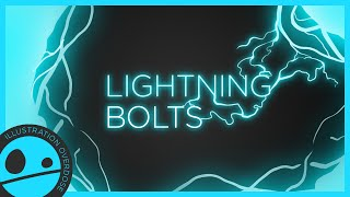 How to Draw a Lightning Bolt - Easy Step by Step Tutorial