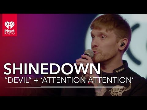"""How Does Shinedown """"Devil"""" Start Story To 'Attention Attention'?   iHeartRadio Album Release Party"""