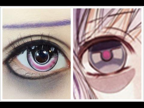 Anime Eyes Makeup Cosplay Tutorial Anime Eye Makeup 73