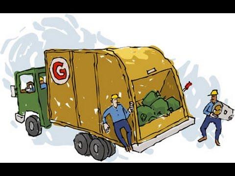 dibujos animados de camiones de basura, dibujo animados infantiles ...