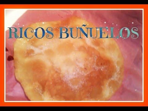 Hagamos Buñuelos // Receta muy rica, fácil y barata :D