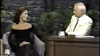 Lara Flynn Boyle On Johnny Carson The Tonight Show