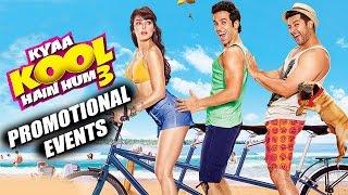 Kyaa Kool Hain Hum 3 (2016) Movie Promotional Events | Tusshar, Aftab, Mandana, Gizele