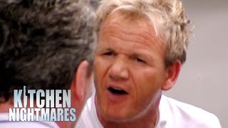 Owner Goes Face To Face With Gordon Ramsay | Kitchen Nightmares