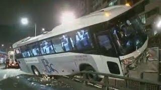 Bus accident Bus crash compilation 2013 Part 4
