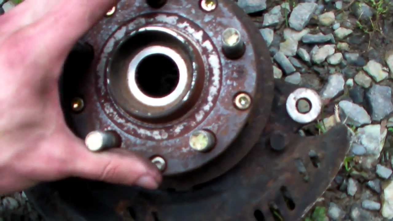 Blown Subaru Wheel Bearing Youtube