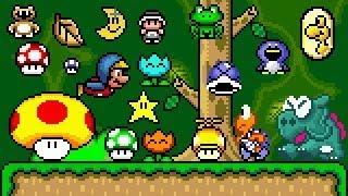 Super Mario Bros X (SMBX 1.4.4) - PowerUps GFX (SMW IMPROVED!!) . HD