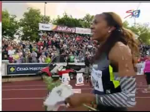 Sanya Richards Ross wins Women&#039;s 400m at Ostrava Golden Spike 25.05.25