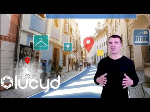 Lucyd   Smart glasses of augmented reality on the blockchain   the next generation Internet !!!