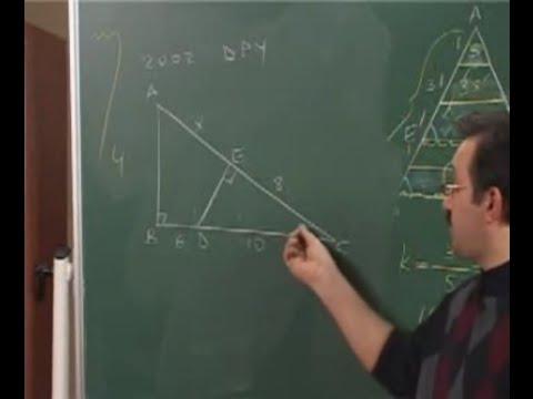 Geometri - 14. Üçgende Benzerlik - 4