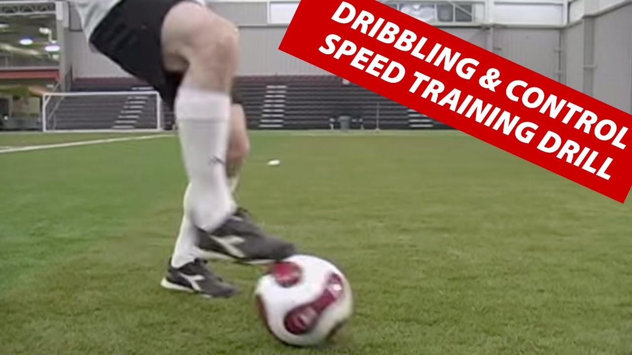Dribbling Soccer Ball Soccer Football Dribbling And