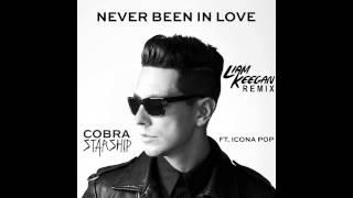 Cobra Starship ft Icona Pop - Never Been In Love Before Liam Keegan Radio Edit
