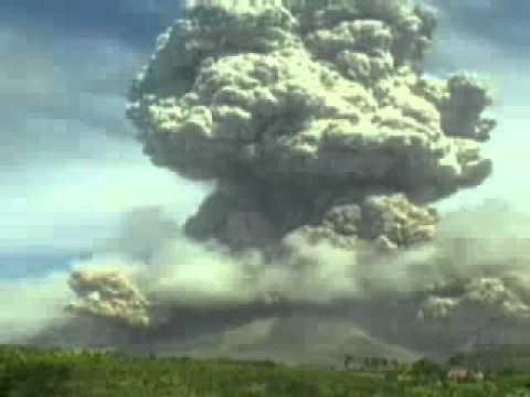 Gunung Meletus Krakatau Tahun 1814