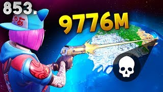 *IMPOSSIBLE* 9776m KILL!! - Fortnite Funny WTF Fails and Daily Best Moments Ep. 853