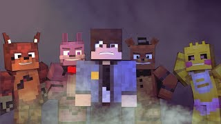 """""""CREEPIN' TOWARDS THE DOOR""""- Fnaf  Minecraft Music Video song by Griffinilla"""