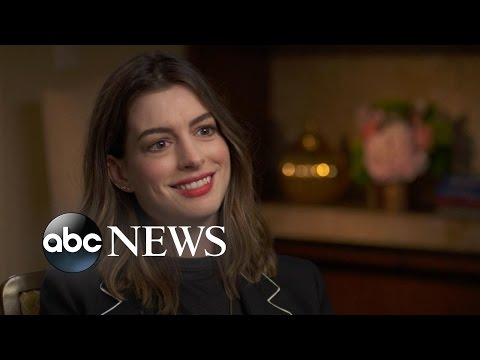Anne Hathaway Talks Motherhood, New Movie